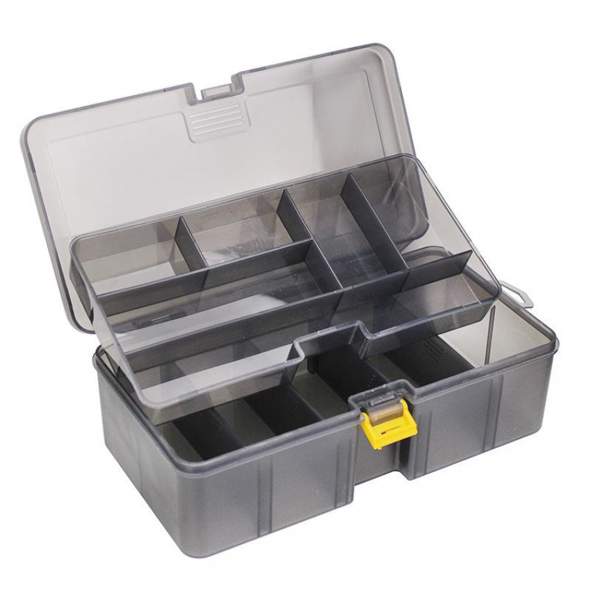 Two layers tackle box(yellow buckle)