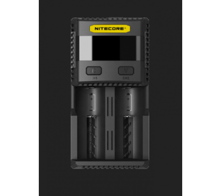 NITECORE SC2 Superb Charger 3A Speedy Charger for 18650 RCR123A 16340 14500 & Batteries