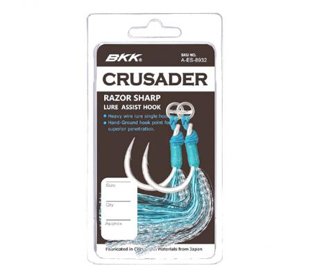 BKK CRUSADER LURE ASSIST HOOKS 9/0