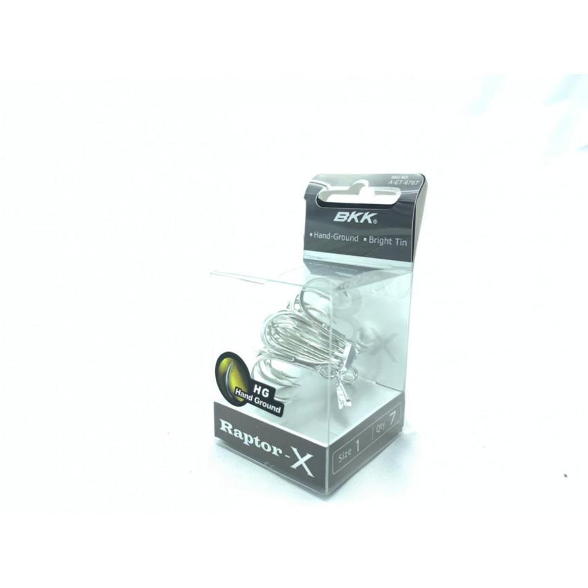 BKK Raptor-X treble hook size 1