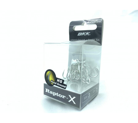 BKK Raptor-X treble hook size 3
