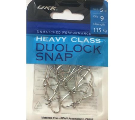 BKK HEAVY CLASS DUOLOCK SNAP #5
