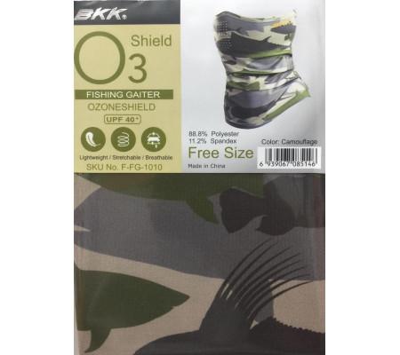 BKK FISHING SUN GAITER O3 SHIELD MASK(CAMOUFLAGE)