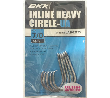 BKK INLINE HEAVY CIRCLE -UA #7/0