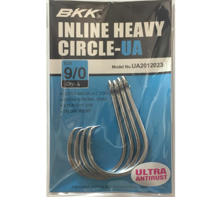 BKK INLINE HEAVY CIRCLE -UA #9/0