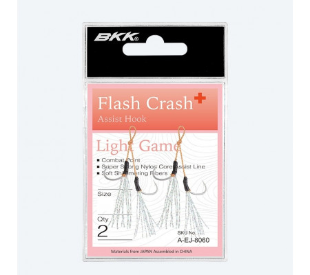 BKK FLASH-CRASH+ XL MICRO JIGGING ASSIST HOOKS