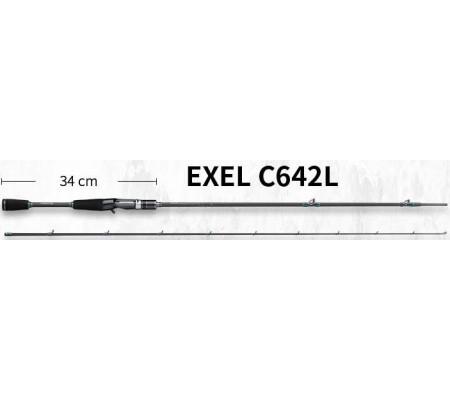 ECOODA ONLINE EXEL C642L BAITCASTING LURE ROD