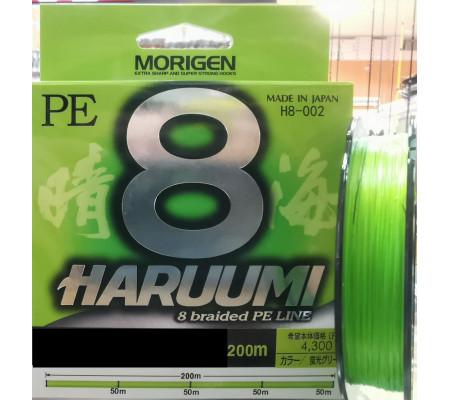 MORIGEN HARUUMI 8 BRAIDED LINE PE1.2(27LB)