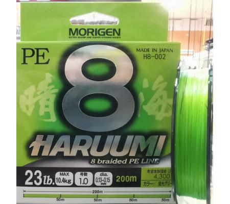 MORIGEN HARUUMI 8 BRAIDED LINE PE1.0(23LB)