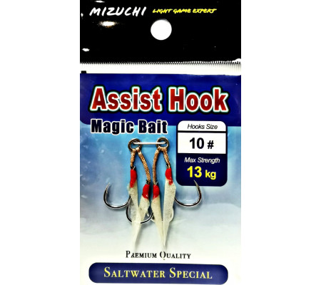 MIZUCHI MAGIC BAIT ASSIST HOOK #10