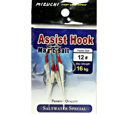 MIZUCHI MAGIC BAIT ASSIST HOOK #12