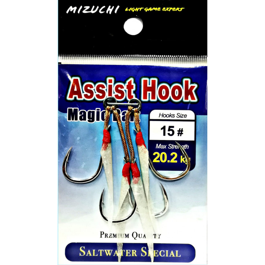 MIZUCHI MAGIC BAIT ASSIST HOOK #15