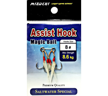 MIZUCHI MAGIC BAIT ASSIST HOOK #8