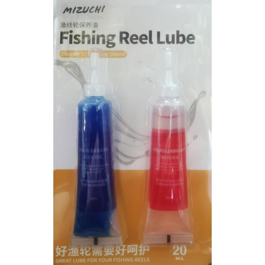 MIZUCHI FISHING REEL LUBE/GREASE COMBO