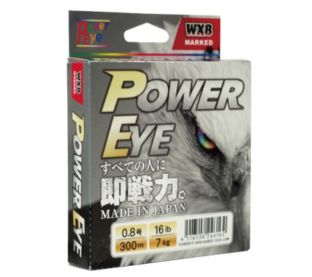 POWER EYE WX8 300m PE0.8 16LB