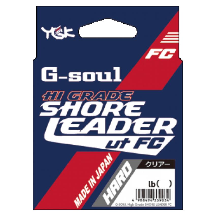 YGK G-soul High Grade Shore Leader FC Hard 30m 5号