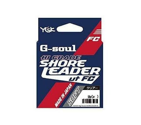 YGK G-soul High Grade Shore Leader FC Soft 30m 6号
