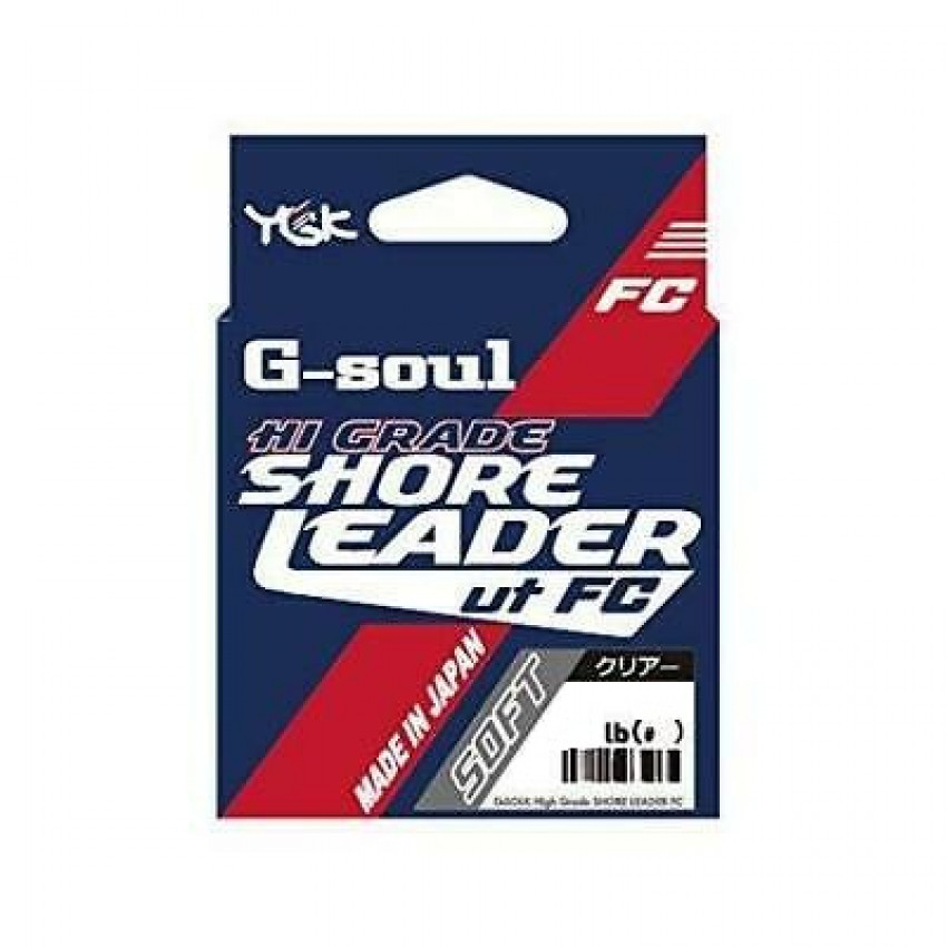 YGK G-soul High Grade Shore Leader FC Soft 30m 4号