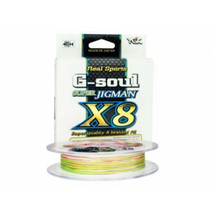 YGK G-SOUL Super JIGMAN X8 200M PE1.0(20LB)