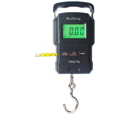 WEIHENG PORTABLE DIGITAL SCALE 75KG WH-A22